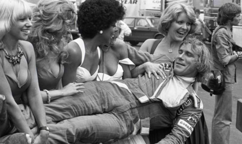 James Hunt y sus fanáticos