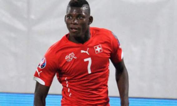Breel Embolo davanter suís