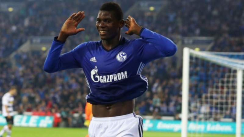Breel Embolo davanter Schalke 04