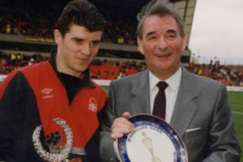 Roy Keane i Brian Clough