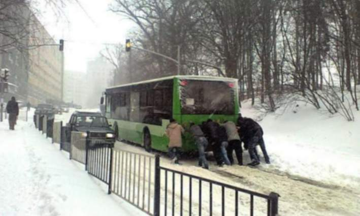 Transport hivernal
