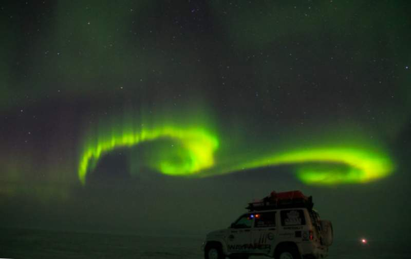 Northern Lights a Yamal.
